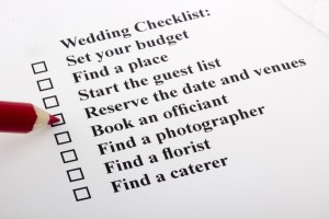 Traditional responsibilities of a Groom when planning a wedding